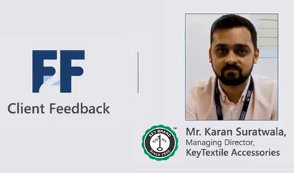 Client Feedback | Mr. Karan Suratwala | Testimonial Video | Fibre2Fashion